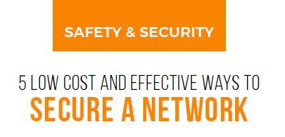 Low Cost and Effective Ways to Secure a Network
